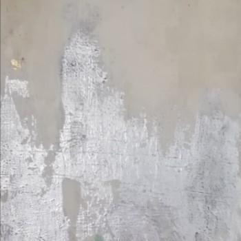 TEORIA OBŁOKU, 2019, szlagmetal / akryl na desce, 125 x 44, (on request)
